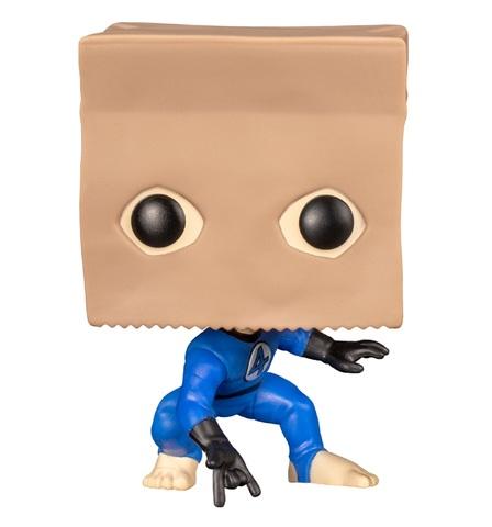 Фигурка Funko POP! Bobble: Marvel: Spider-Man Bag-Man (Exc) 42976
