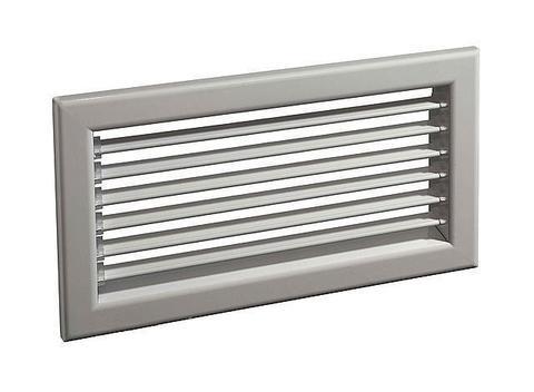 Решетка с горизонтальными жалюзи Diaflex RAG 500х150