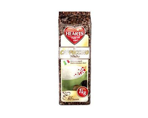 купить Кофейный напиток Hearts Cappuccino White, 1 кг