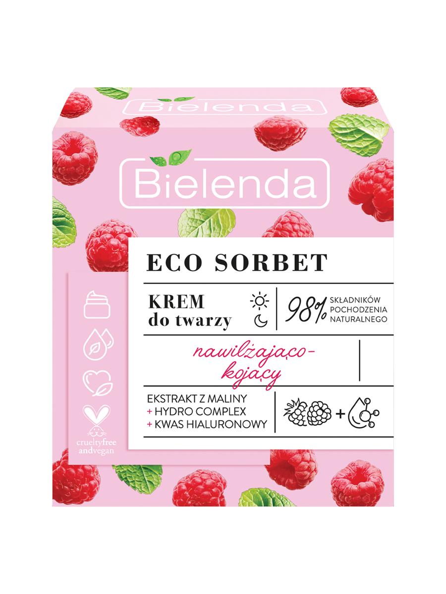 ECO SORBET Raspberry Крем увлажняющий и успокаивающий для лица, 50мл