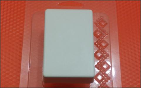 Брусок мини. Форма для мыла пластиковая