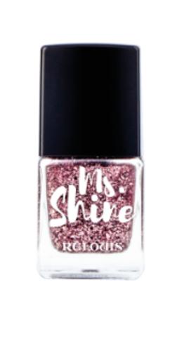 RELOUIS Лак для ногтей  Ms.Shine тон 06 PINK GOLD