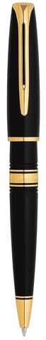 *Шариковая ручка Waterman Charleston , цвет: Black/GT, стержень: Mblue123