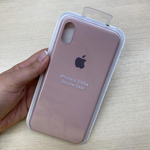 Чехол iPhone XS Max Silicone Slim Case /pink sand/