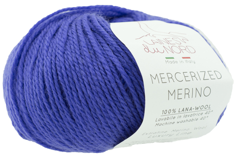 Пряжа Mercerized Merino (Мерсеризед Мерино).Фиолетовый. Артикул: 28