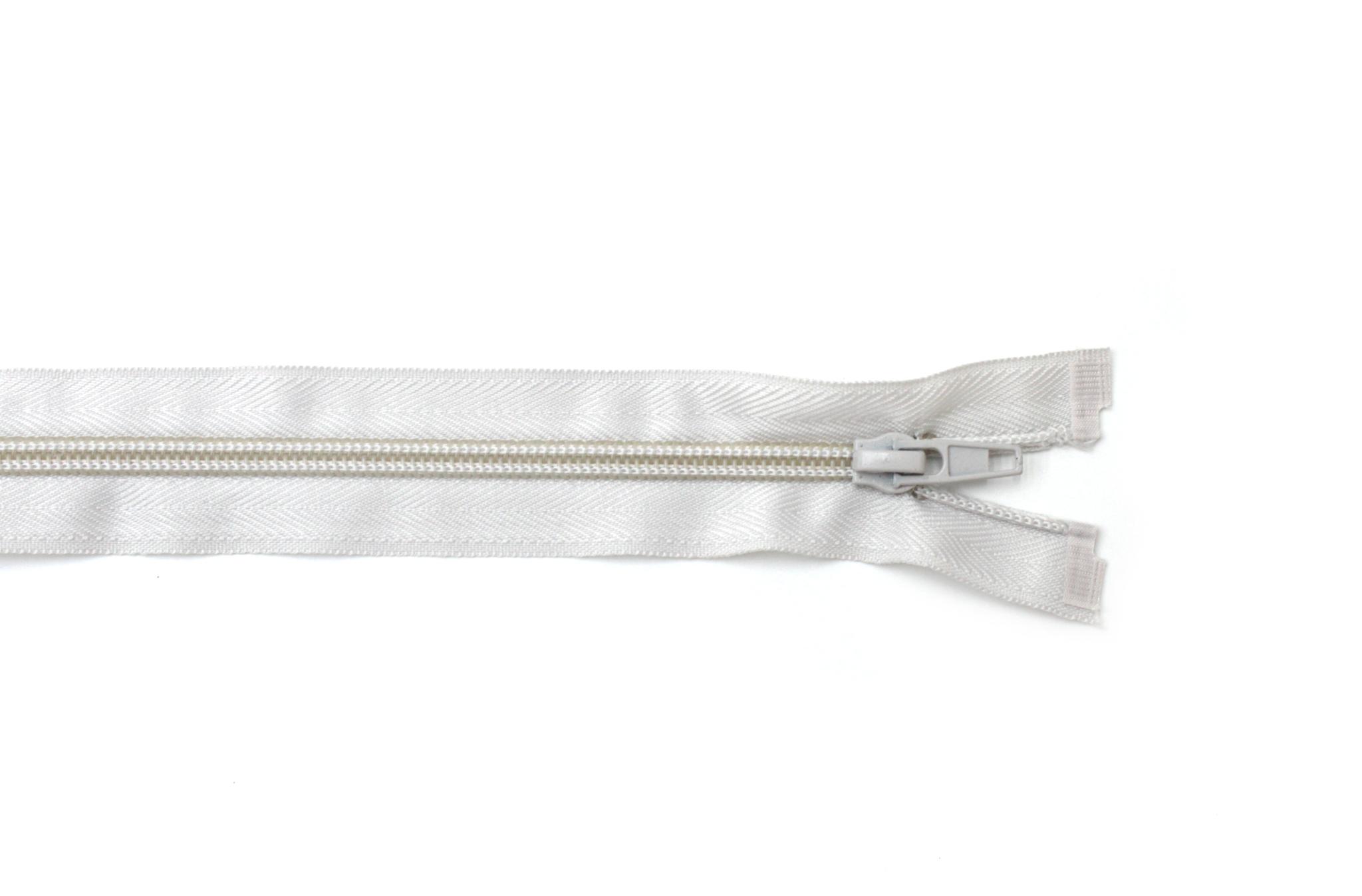 Молния,50 см,св.серый(разъемная)