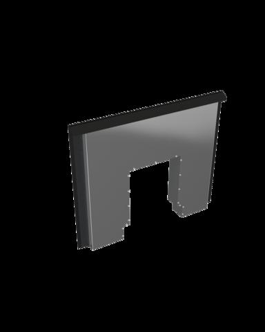 Разделительный экран Window утепленный