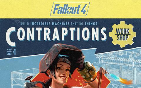 Fallout 4 - Contraptions Workshop DLC (для ПК, цифровой ключ)