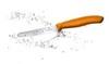 Нож Victorinox для томатов и сосисок лезвие 11 см волнистое, оранжевый