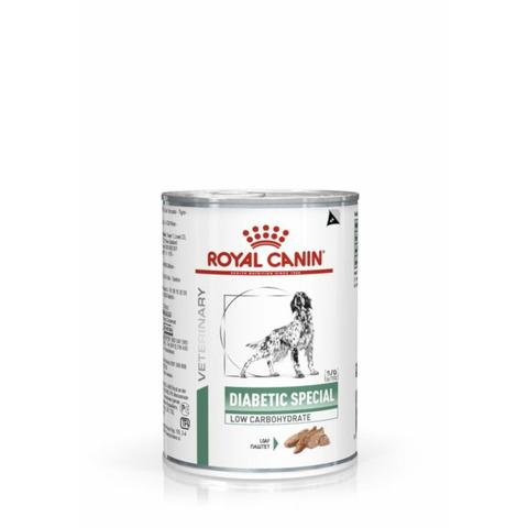 Royal Canin Diabetic Special Low Carbohydrate консервы для взрослых и пожилых собак всех пород, больных сахарным диабетом - 410 г
