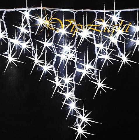 Светодиодная гирлянда бахрома с полным мерцанием каждого светодиода лампы диода LED icicle light