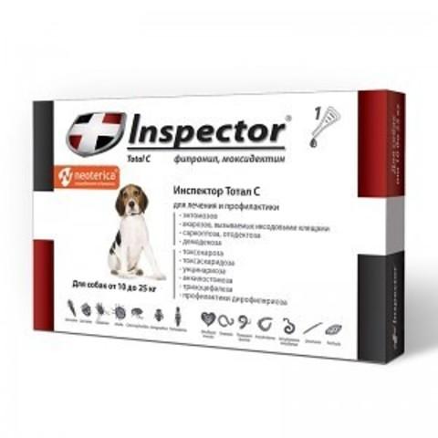 INSPEСTOR (Инспектор) для собак 10-25 кг   1 пип.