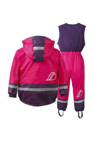 Didriksons комплект BOARDMAN  прорезиненный утепленный флисом розовый