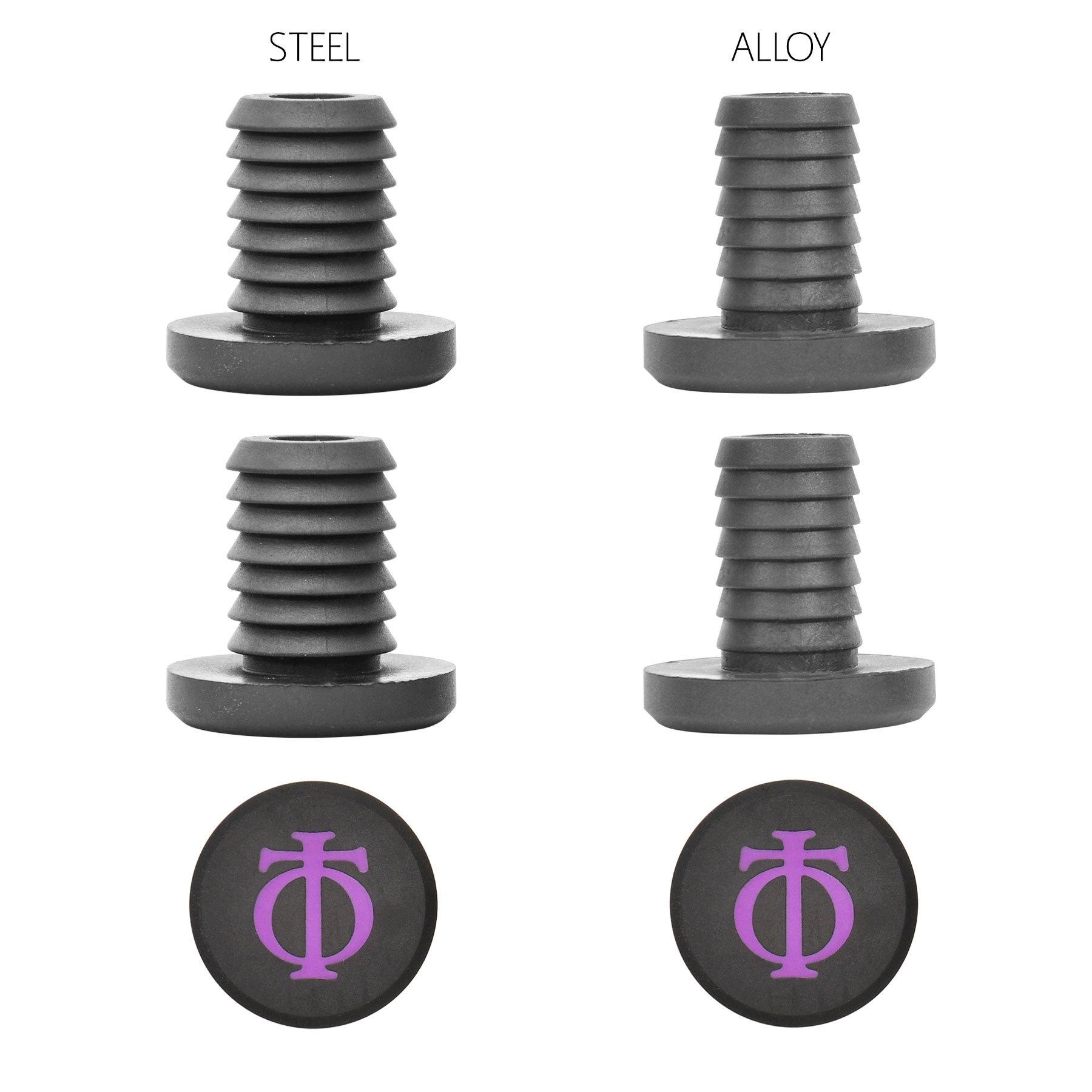 Грипсы OATH Bermuda Grips 165mm (Purple/Black Marble)