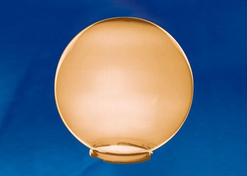 UFP-R250B BRONZE Рассеиватель в форме шара для садово-парковых светильников. Диаметр - 250мм. Тип соединения с крепежным элементом - посадочный. Материал - САН-пластик. Цвет - бронзовый. Упаковка - 4 шт. в групповой картонной коробке.