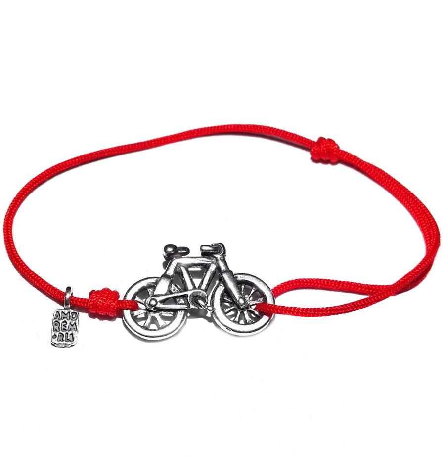 Bicycle Bracelet, Sterling Silver