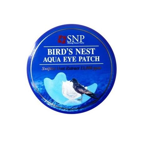 SNP Bird's Nest Aqua Eye Patch гидрогелевые патчи с ласточкиным гнездом, 60шт.