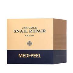 MEDI-PEEL 24K Gold Snail Cream (50g) Премиум крем с улиткой и 24К золотом