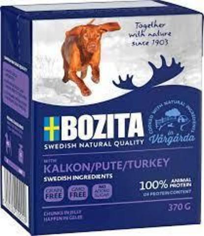 Bozita Naturals Turkey Консервы для собак с индейкой, кусочки в желе