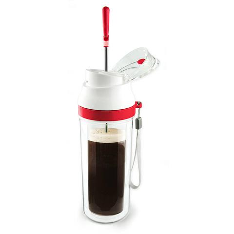 Френч-пресс Asobu Modern press (0,48 литра), красный