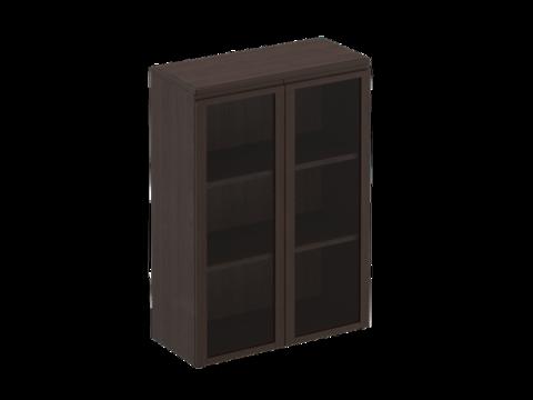 МК 312 ДА Шкаф для документов средний со стеклянными дверями