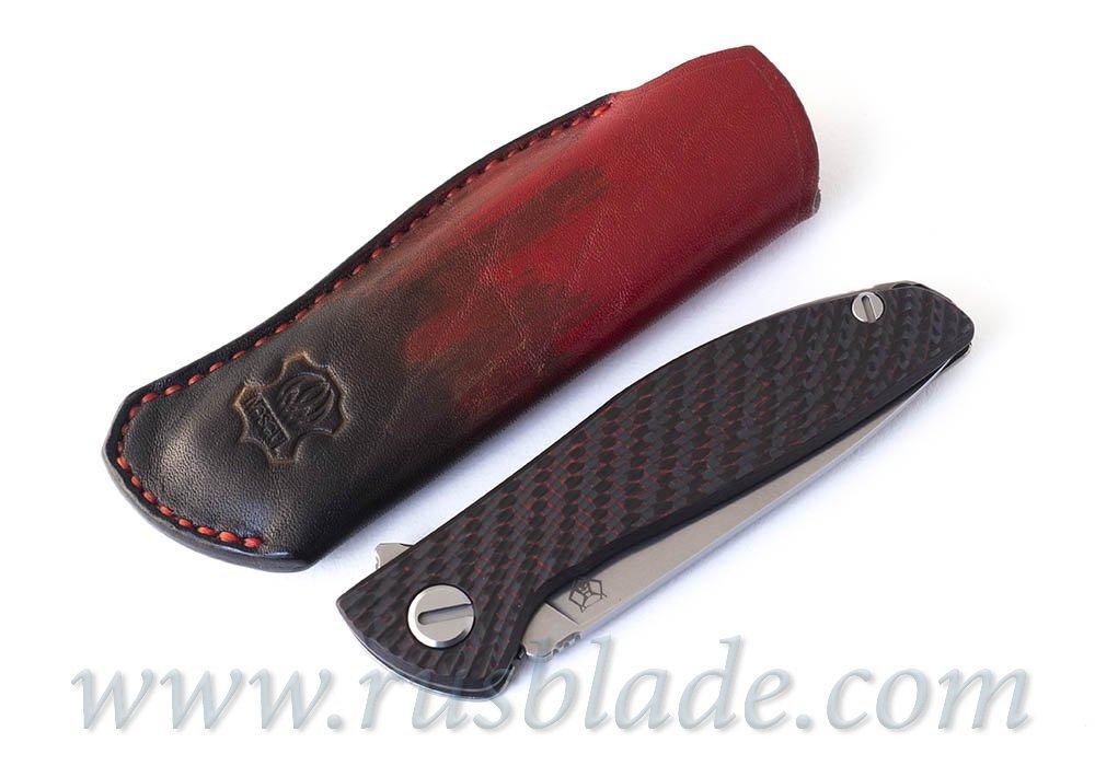 Shirogorov HatiOn leather sheath Red