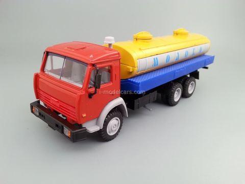 KAMAZ-53215 Milk tanker Elecon 1:43