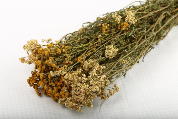 Веник травяной из пижмы и тысячелистника