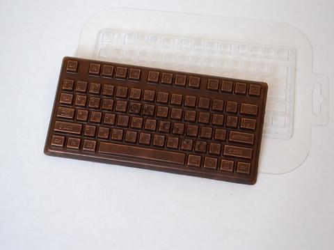 Клавиатура, форма для мыла пластиковая