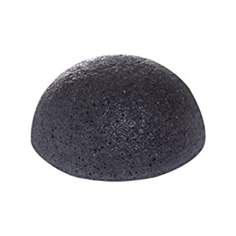 THE SAEM Спонж конняку 100% Charcoal Jelly Cleansing Puff
