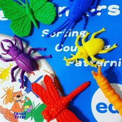 Счетный материал фигурки Насекомые, Edx education