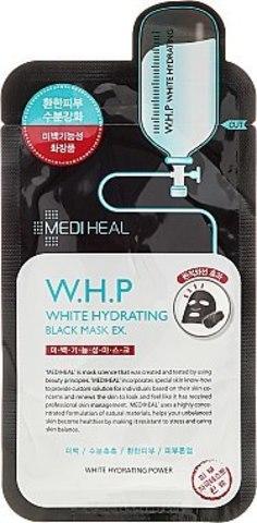 MEDIHEAL W.H.P. White Hydrating Black Mask EX(10PC)