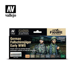 Model Color Set: German Fallschrimjager Early WW II (8)