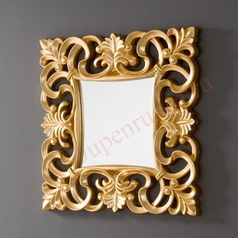 Зеркало DUPEN PU021 золото
