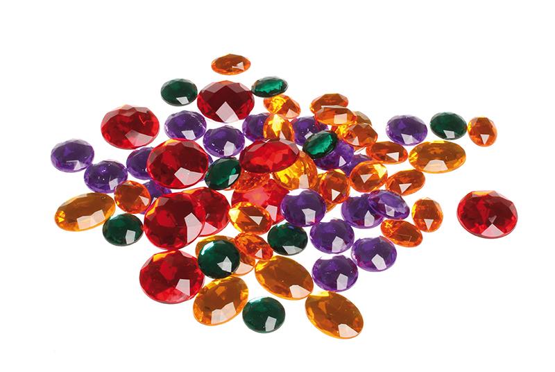 Набор блестящих камней
