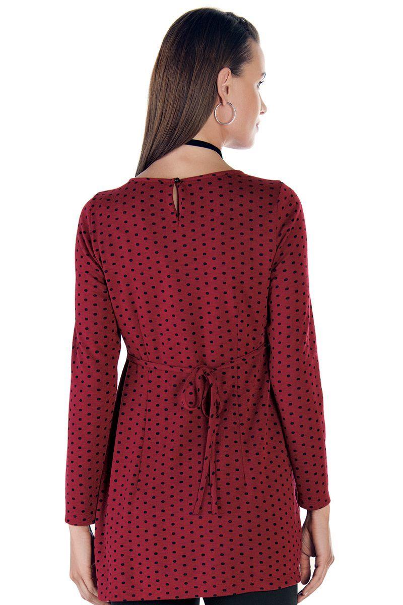 Блузка для беременных 08937 красный