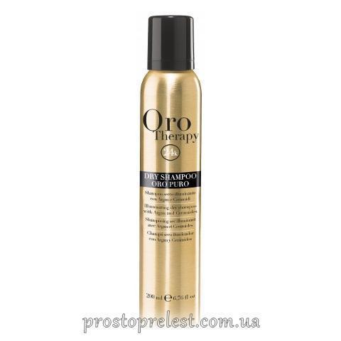 Fanola Oro Therapy Dry Shampoo Oro Puro - Сухий шампунь з олією Аргани