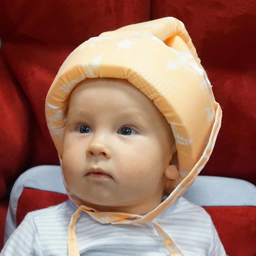 Farla Шлем для защиты головы малыша Mild Звезды shlem-dlya-zaschity-golovy-malysha-mild-zvezdy2.png