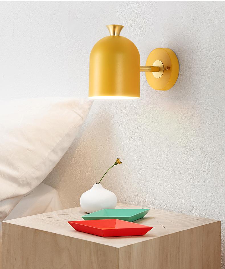 Настенный светильник Hood by Light Room (розовый)