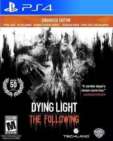Dying Light. The Following. Расширенное издание (PS4, русские субтитры)