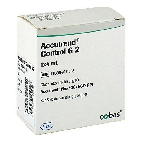 Контрольный раствор Аккутренд Глюкоза (ACCUTREND CONTROL G) 2х4 мл /Roche Diagnostics GmbH, Германия/