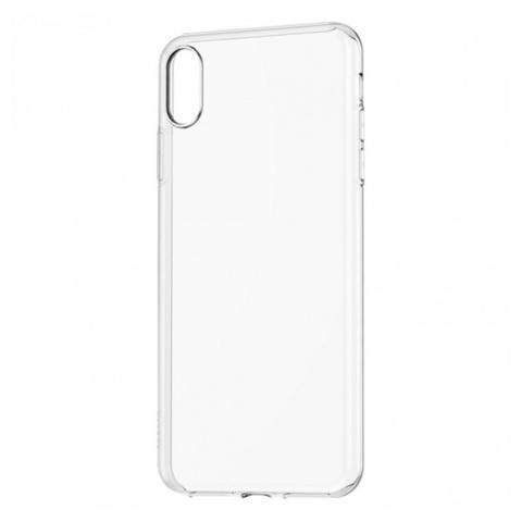 Чехол для iPhone XS Max - Прозрачный Силиконовый