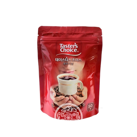 Кофе натуральный Nestle Tasters Choice растворимый сублимированный 50г Lotte Корея