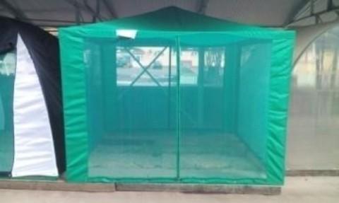 Дачный шатер «Восточный» 2,6*2,6 , с сеткой (цвета в ассортименте)
