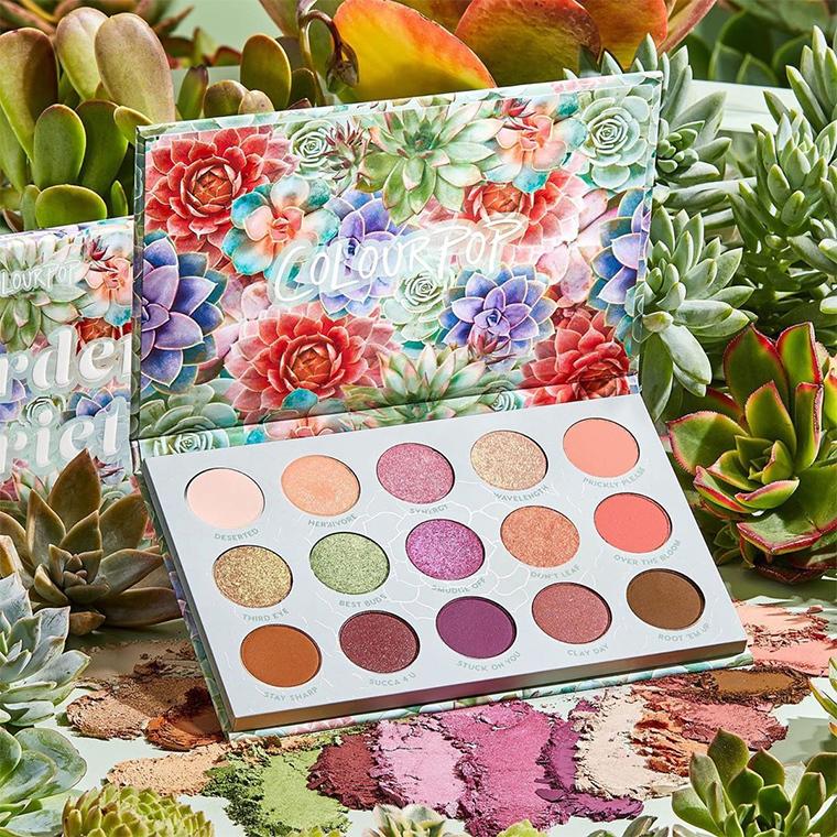 ColourPop Garden Variety palette