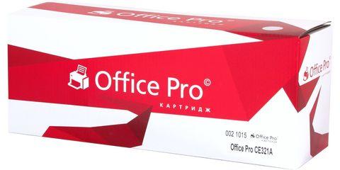 Картридж лазерный цветной Office Pro© 128A CE321A голубой (cyan), до 1300 стр. - купить в компании MAKtorg