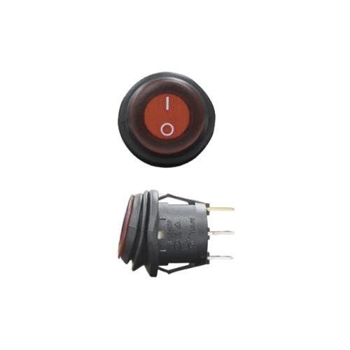 Выключатель двухпозиционный влагозащищённый с индикатором ALO-AK2