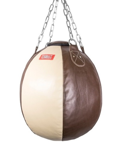 Боксерская груша FIGHTtech SBLC3, 50х50, 45 кг, кожа