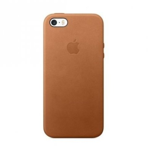 Чехол iPhone SE Leather Case /saddle brown/
