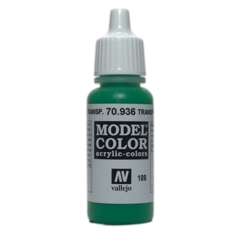 Model Color Transparent Green 17 ml.